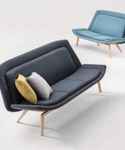 Nordic Sofas with oak legs