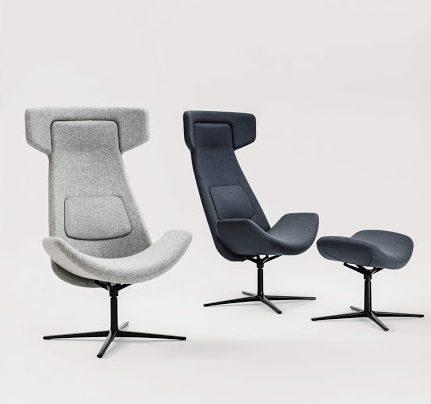 Nordic Lounge High Back Chair